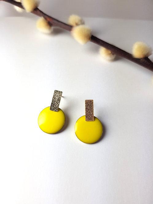 Rosie Earrings - Yellow