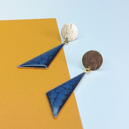 Gemma Earrings - Blue