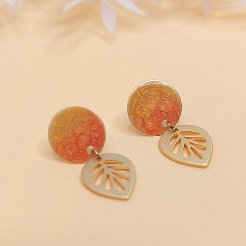 Willow Earrings - sunrise