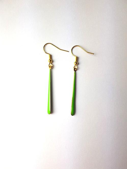 Malia Earrings - Green