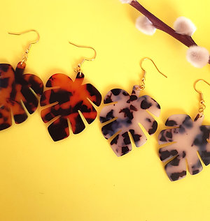 Monti Earrings - Tortoiseshell