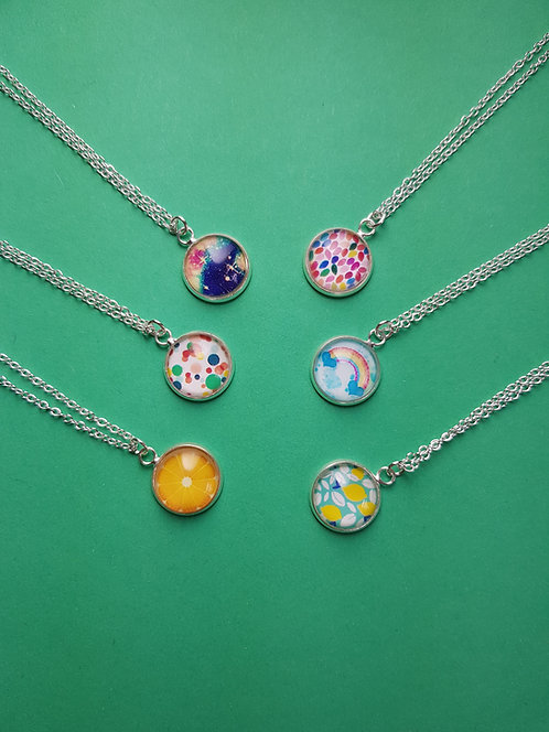 Wild Necklaces - 6 different patterns