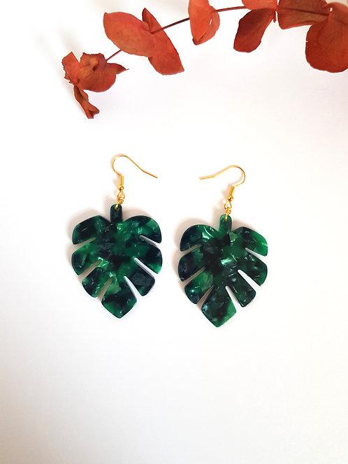 Monti Earrings - Green