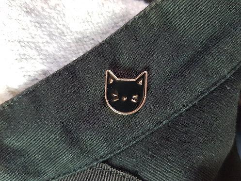 Black Cat Pin