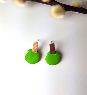 Rosie Earrings - Green
