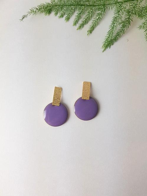 Rosie Earrings - Purple