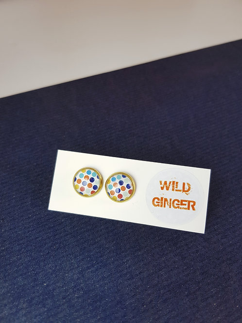 Large Dotty Wild Studs