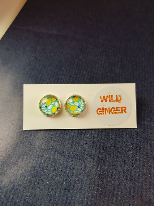 Large Lemon Wild Studs
