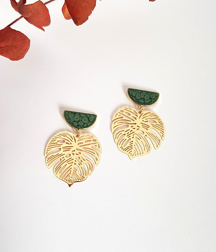 Olivia Earrings - gold or silver
