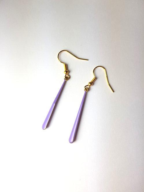 Malia Earrings - Purple