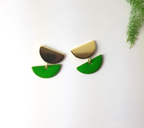 Anna Earrings - Green