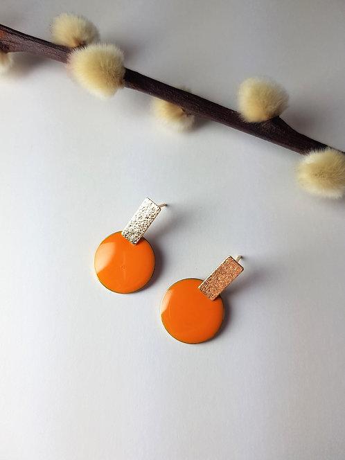 Rosie Earrings - Orange