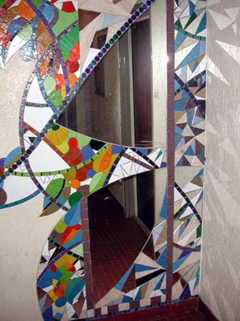 Mosaïque murale, Hall 260