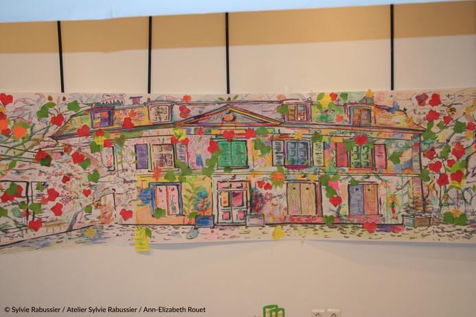 Panorama collaboratif de la maison André Derain