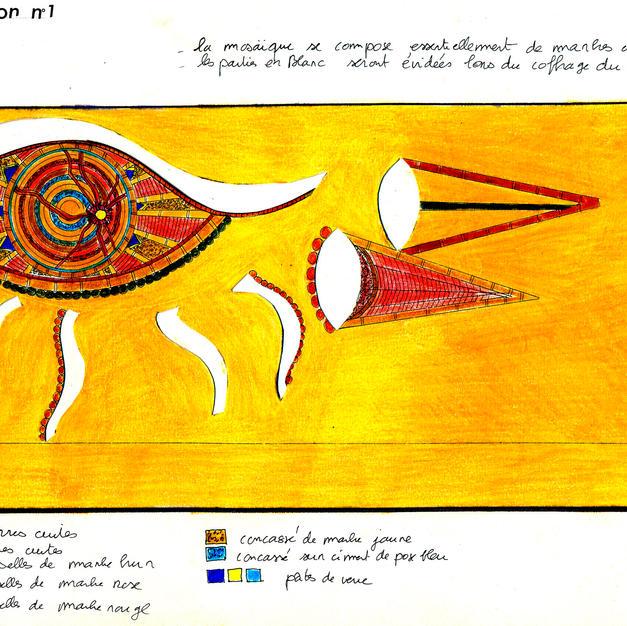 Proposition d'une création murale n°2