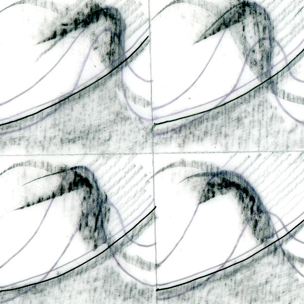 Design graphique pour bas-relief en façade, n°1