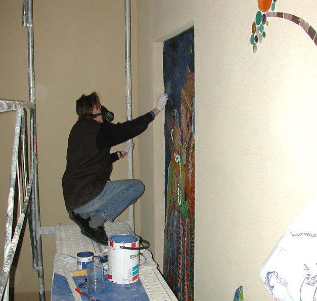 Artiste au travail n°2