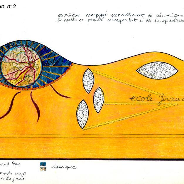 Proposition d'une création murale n°1