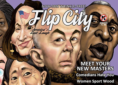 Issue 5 of FLIP CITY takes control of your life MARCH 1...