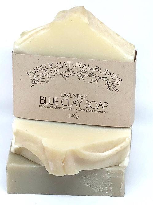 Lavender - Blue Clay Artisan Soap