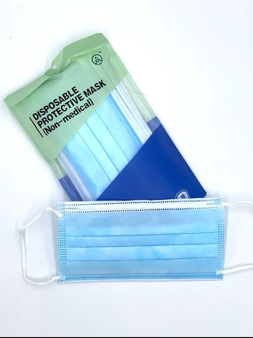 Henan Hygienemasken in BLAU geeignet für Brillenträger