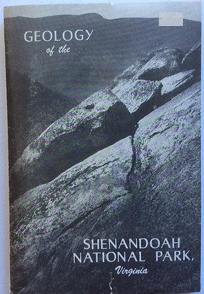 Geology of the Shenandoah National Park, VA