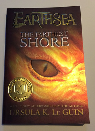 Farthest Shore, #3 of EarthSea cycle  by Ursula K. Le Guin