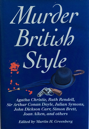 Murder British Style   edited by Martin Greenberg