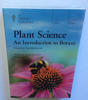 Plant Science; An Introduction to Botany   by Prof. Catherine Kleier