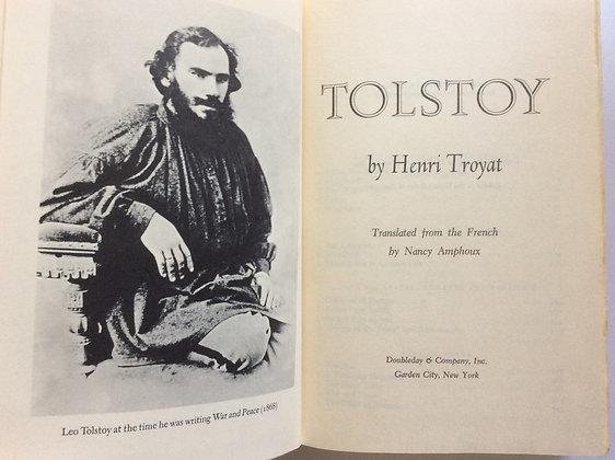 Tolstoy   by Henri Troyat