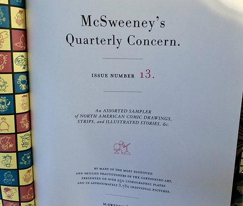 McSweeney's Quarterly Concern #13