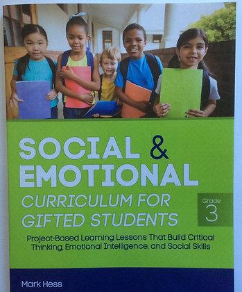 Social & Emotional Curriculum   by Mark Hess