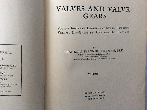 Valves and Valve Gears   by Franklin Furman