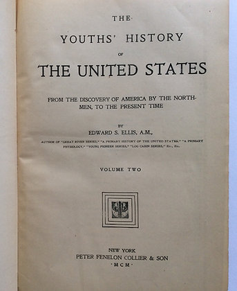 Youths' History of the United States  by Edward Ellis