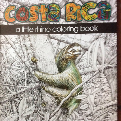 Coloring Book of Costa Rica   by Bob Anderson
