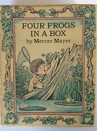 Four Frogs In A Box   by Mercer Mayer