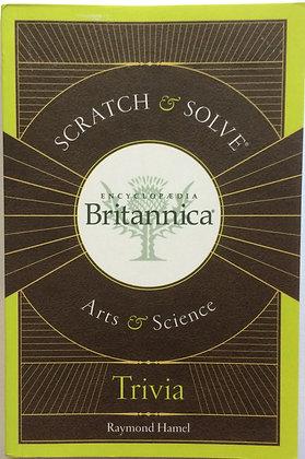 Scratch & Solve;Arts & Science Trivia   by Raymond Hamel