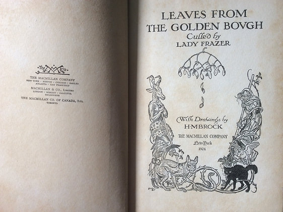 Leaves From The Golden Bough  - Lady Frazer
