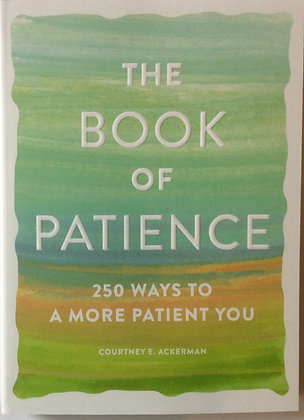 The Book of Patience   by Courtney E. Ackerman