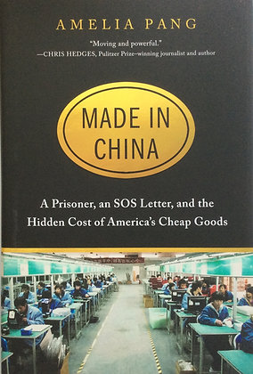 Made In China; A Prisoner, an SOS Letter......by Amelia Pang