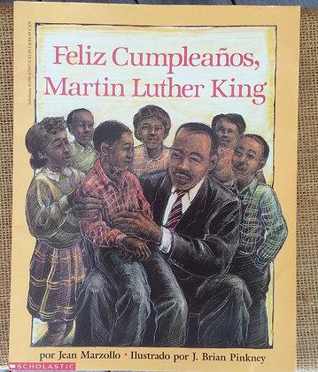 Feliz Cumpleanos, Martin Luther King by Jean Marzollo