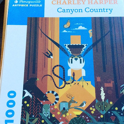 Canyon Country  PUZZLE