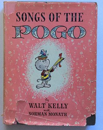 Songs of the Pogo   by Walt Kelly