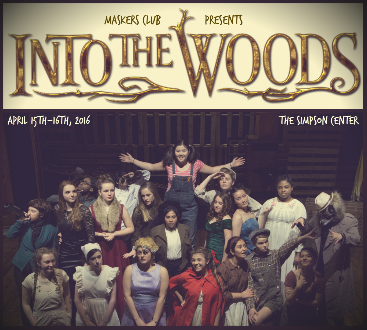 Into the Woods Cast Poster