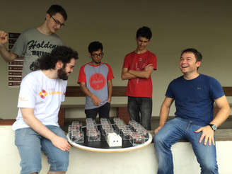 3D Innov Brasil patrocina equipe de Guerra de Robôs no 12º Winter Challenge