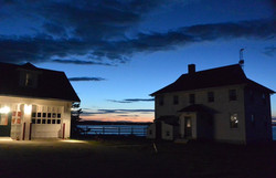 Sunset at the Lodge