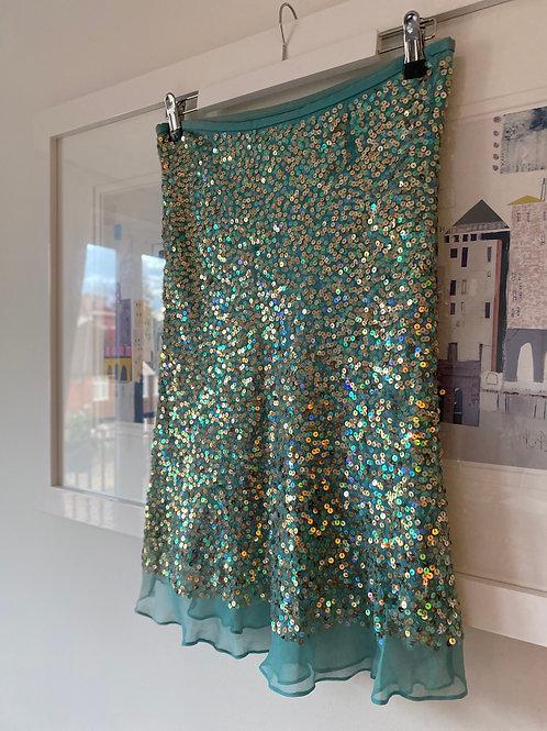 Warehouse Sequin Skirt