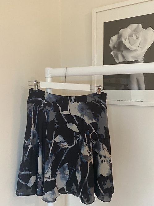 Reiss Marble Print Skirt