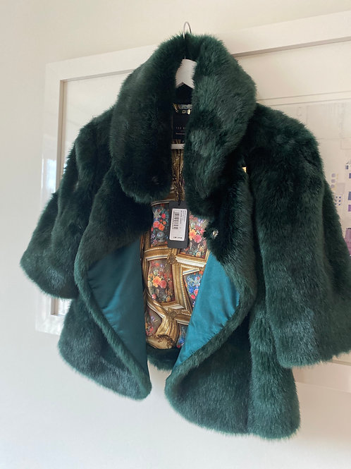 Ted Baker Faux Fur Jacket