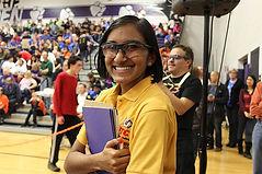 Lakshmi wins the Woodie Flowers Finalist Award